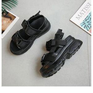 Buckle Strap Platform Sandal